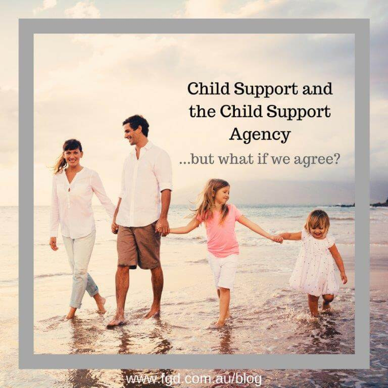child support agency