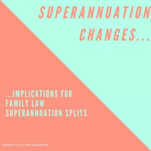 superannuation splits