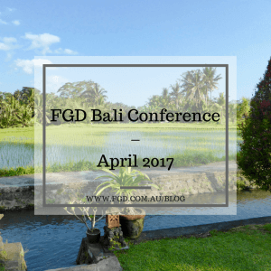 FGD Bali Conference