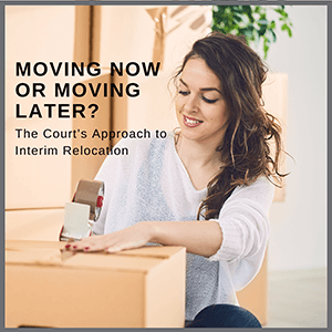 Moving now or moving later?