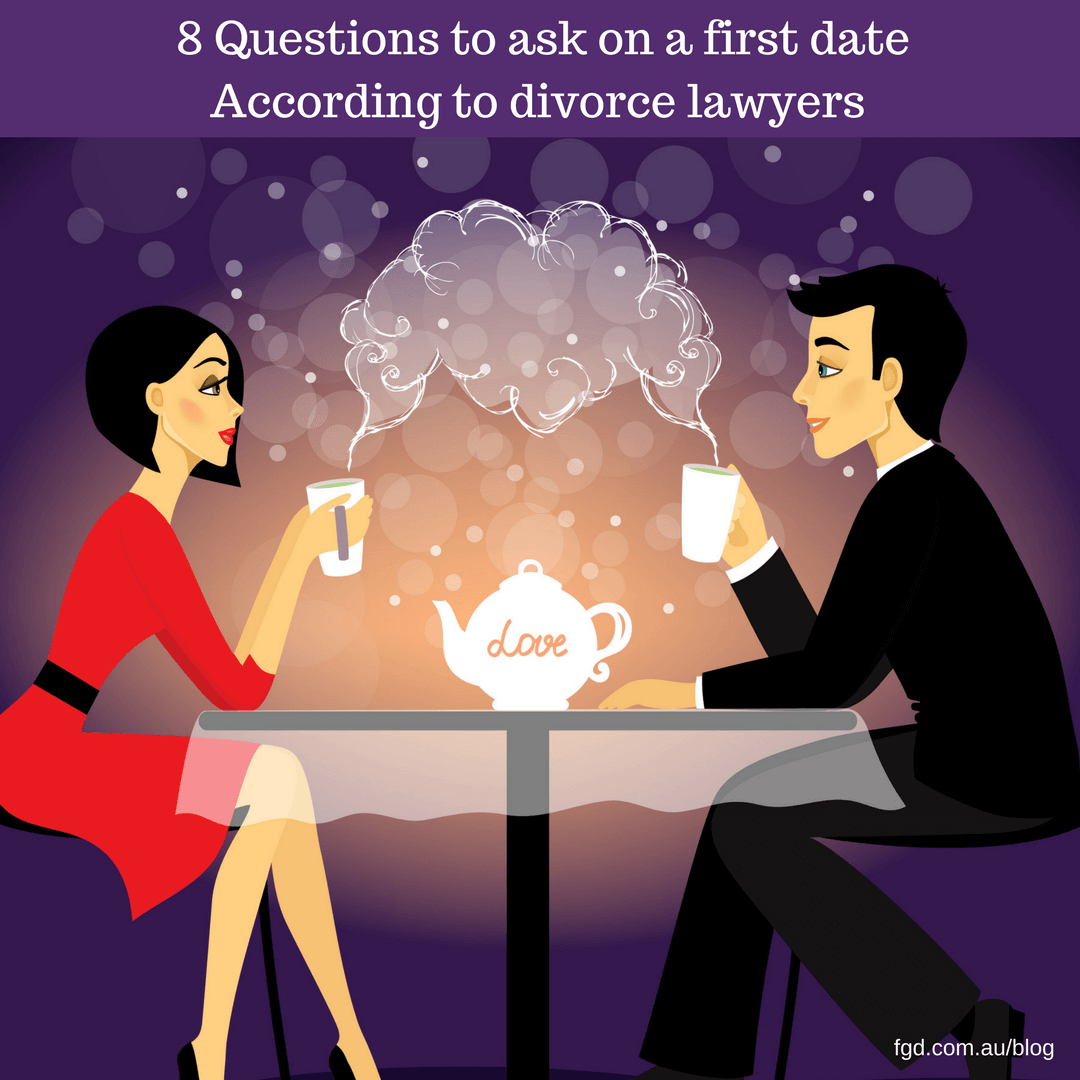 Questions To Ask On A First Date, According To Divorce