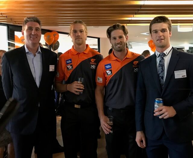 giants launch party