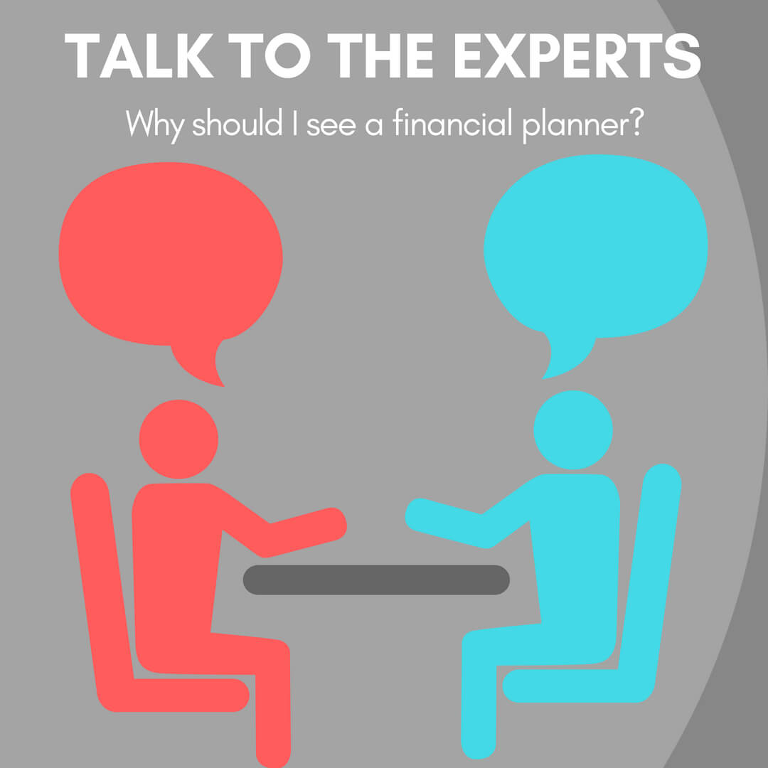 talk to the experts graphic